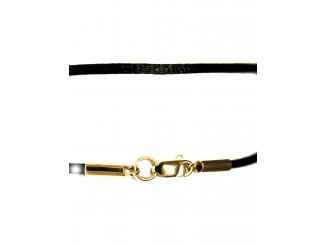Шнурок с золотым замком (363-Ш)