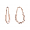 Золотые серьги-кольца (1-5016.0.1) - 1