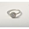 Серебряное кольцо с фианитом (т1624488) - 1