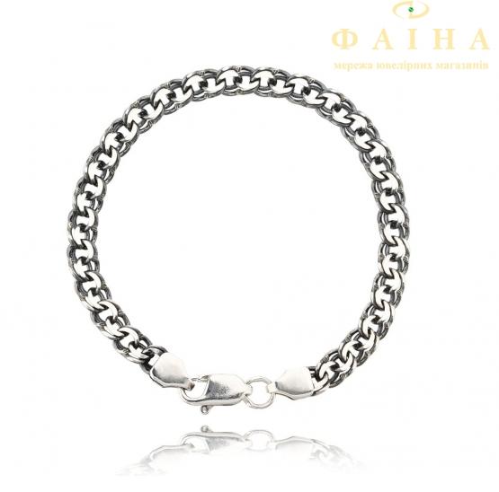 Серебряная цепь (10311-Ч алм) - 1