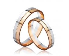 Золотое обручальное кольцо (КОА092)