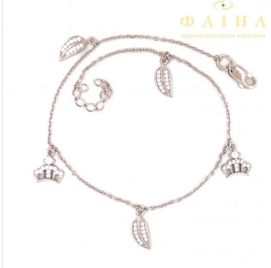 Серебряный браслет (т662105) - 1