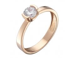Золотое кольцо с фианитом (1191360101)