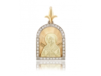 Золотой подвес (11401-Л.ал)