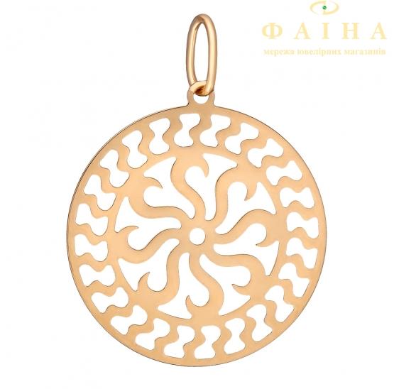 Золотой кулон (3004661101) - 1