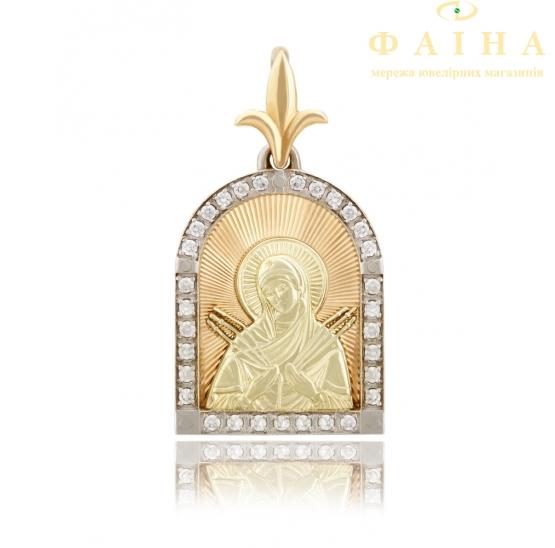 Золотой подвес (11401-Л.ал) - 1