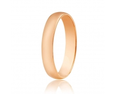 Золотое обручальное кольцо (КО035)
