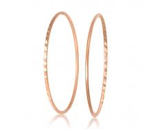 Золотые серьги-кольца (1-5007.0.1)