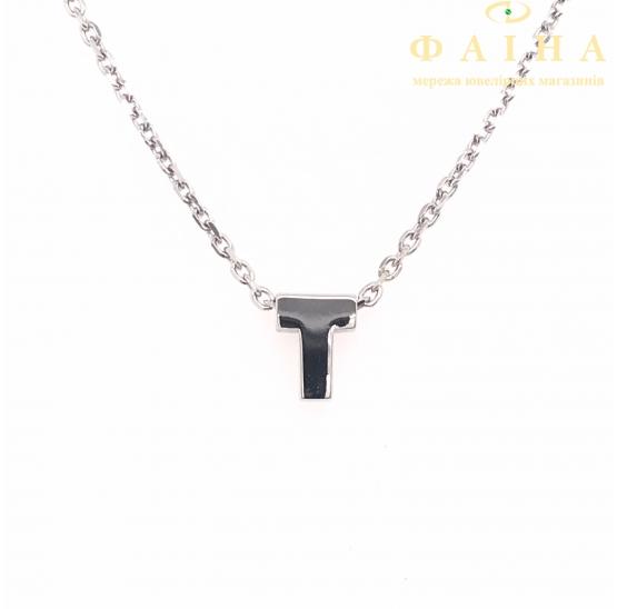 Серебряная цепь-колье (861123) - 1