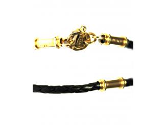 Шнурок с золотым замком (Ш5/baraka)