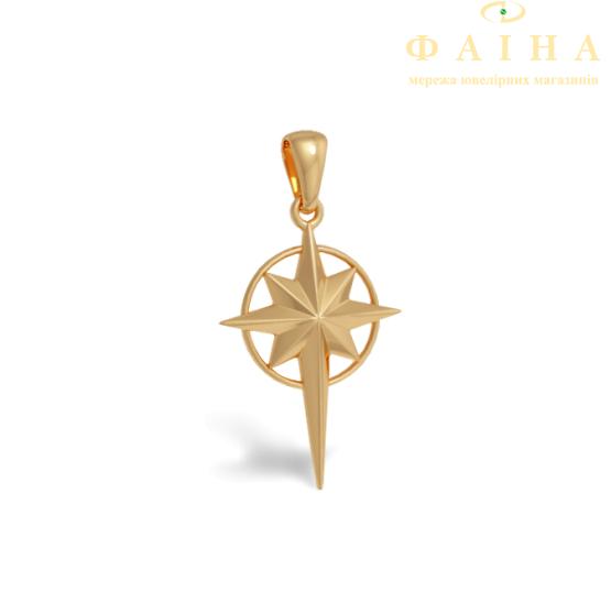 Золотой кулон (105-0715) - 1
