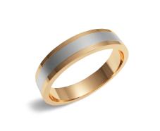 Золотое обручальное кольцо (300-0033)