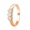 Золотое кольцо с фианитом (ко4102Sw) - 1