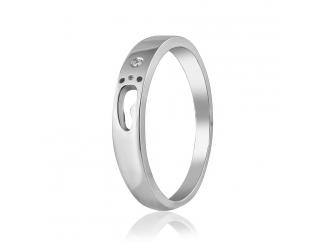 Золотое кольцо с фианитом (КД0521-1)