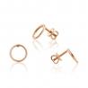 Золотые серьги-пуссеты (С0426G) - 1