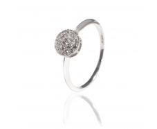 Золотое кольцо с бриллиантом (1191666202)