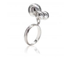 Серебряное кольцо (400098-р)