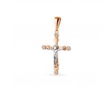 Золотой крест с бриллиантом (191)