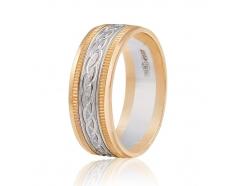 Золотое обручальное кольцо (КОА044)