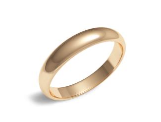 Золотое обручальное кольцо (100-0935)
