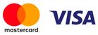 Принимаем оплату Visa и MasterCard
